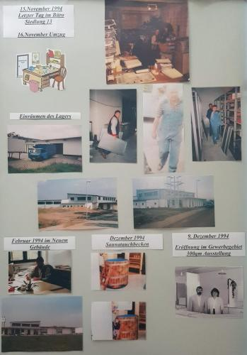 15. November 1994<br />Letzter Tag im Büro Siedlung 13.<br />16. November Umzug.